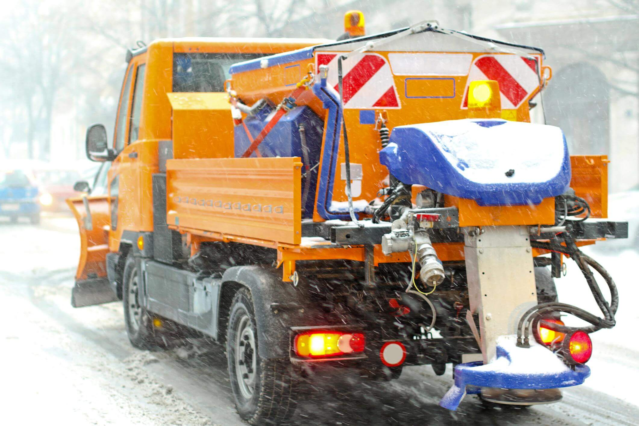 This is a picture of an ice control service.