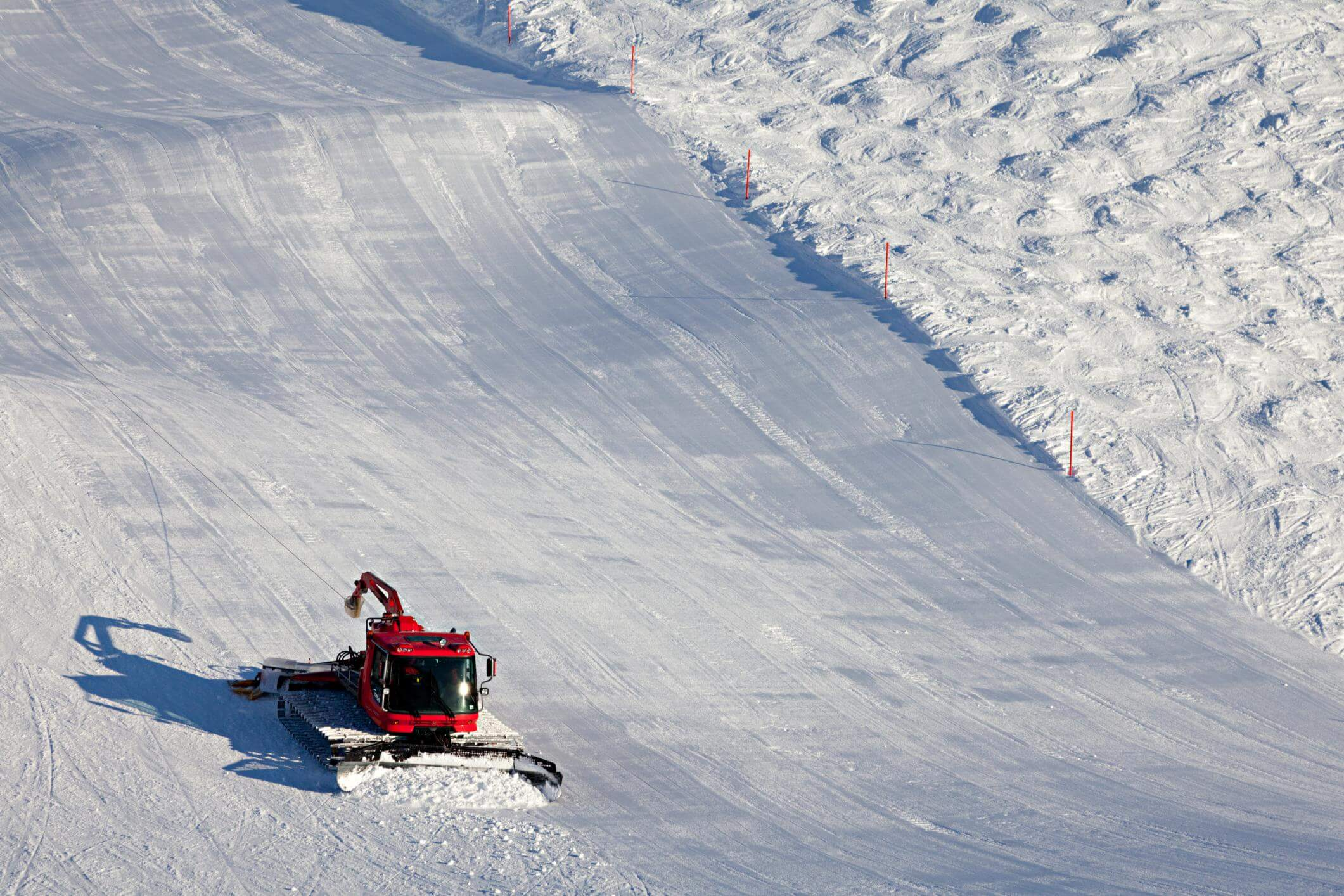 Industrial snow removal